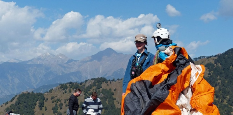 Paraventures at Bir, India