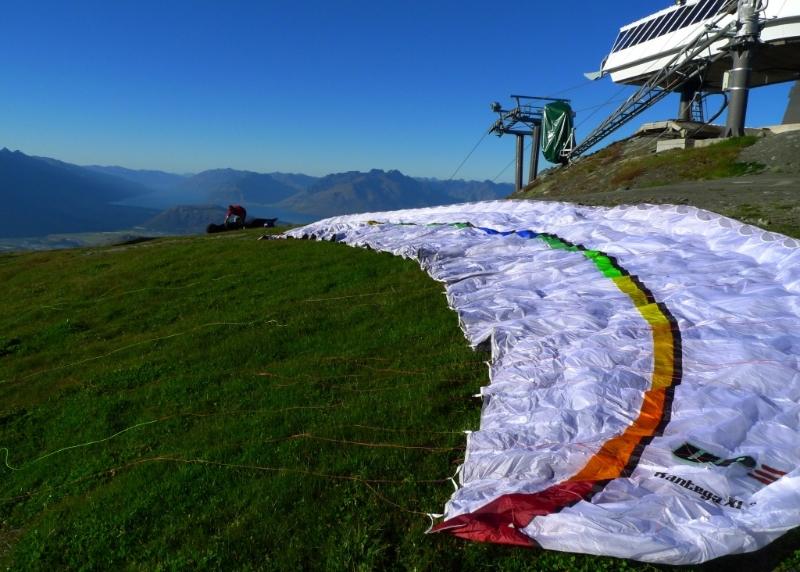 Paraventures, Coronet Peak - UP Kantega XC2