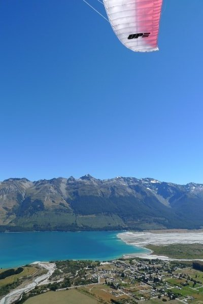 Flying the UP Trango XC2 in Glenorchy, NZ