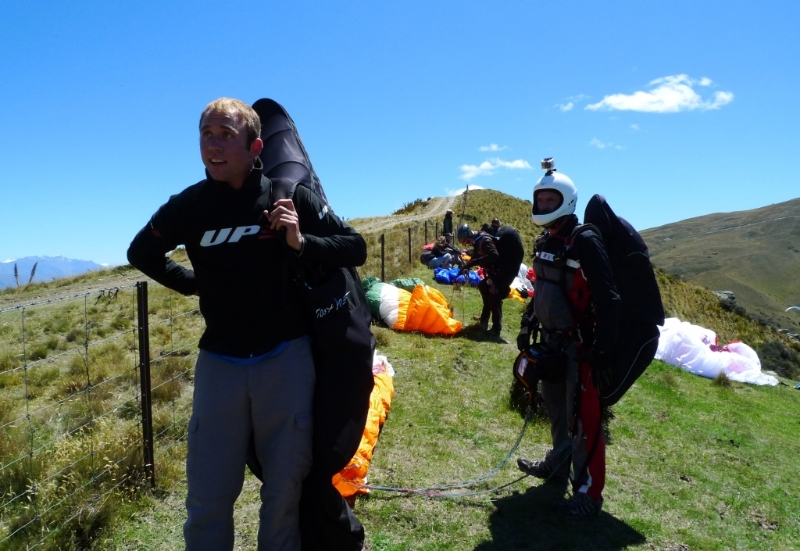 The NZ Paragliding Nationals, Long Gully, NZ