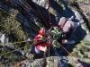 Flying tandem at Coronet Peak, New Zealand