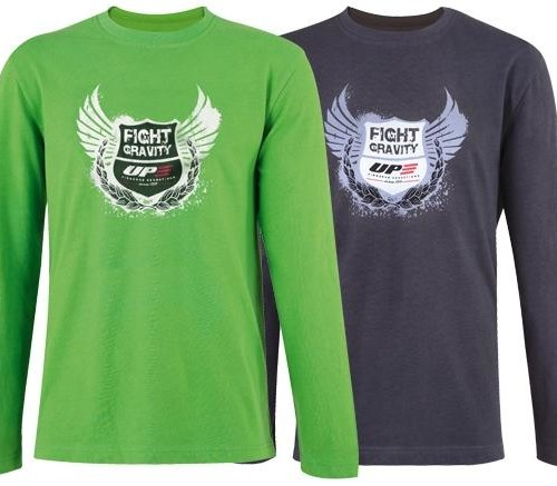 UP LONG SLEEVE GRAVITY T